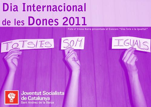 Cartell dia dones 2011