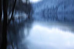 winter time (plaisirdevivre) Tags: blue winter lake cold ice lago blu inverno freddo ghiaccio