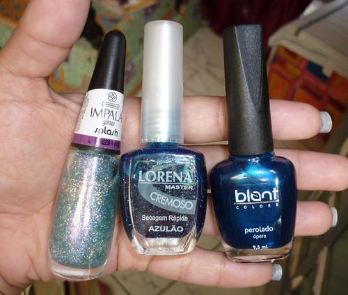 Ópera(Blant), Splash (Impala) e Azulão (Lorena)