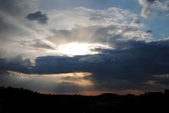 Sunset (ElisabeteFerreira) Tags: sunset sky sun sol raios cu prdosol nuvens ilustrarportugal