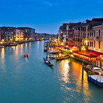 View of the Grand Canal from the Ponte di Rialto II
