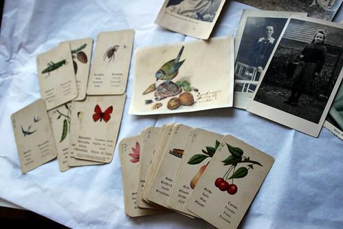 vintage card game.