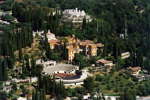 Veduta aerea Cittadella - Foto Archivio Vittoriale