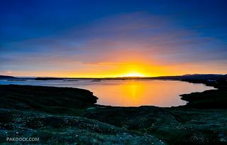 Midnight sun at Myvatn (B-side)