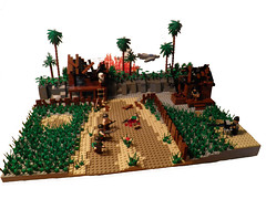 1963 Vietnam (~Amadgunslinger~) Tags: black call lego fig duty mini vietnam minifig custom ops brickarms brickforge