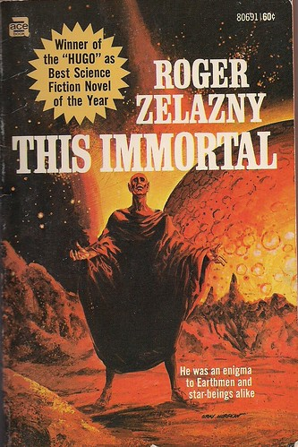 Roger Zelazny This Immortal paperback cover by Gray Morrow
