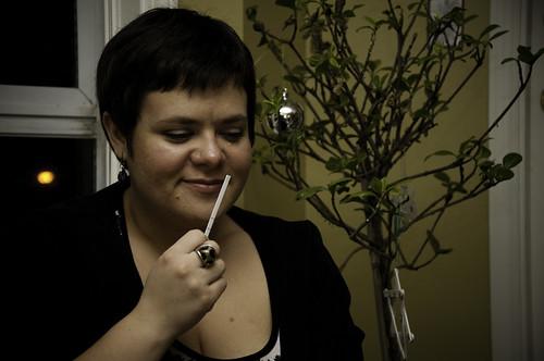 Lindsay's sniffing fest