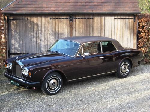 Rolls-Royce Corniche Coupé.