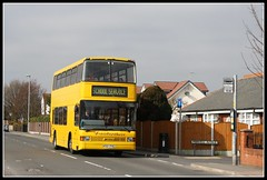 Fairbrothers K321 FYG (dennisdominator14) Tags: bus london warrington independent spectra appleton optare londoncentral independentoperator fairbrothers k321fyg