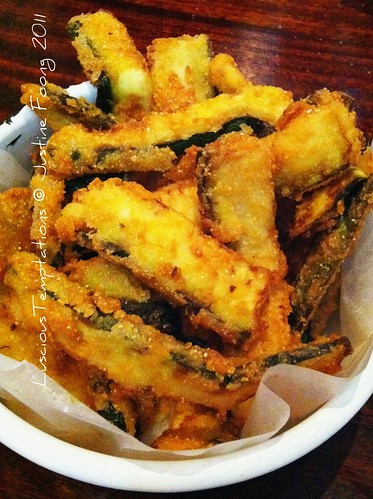 Courgette Fries - Byron, Kings Road