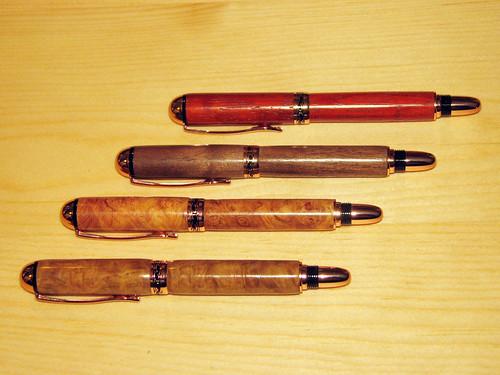 Four 'Sedona' Rollerball Pens