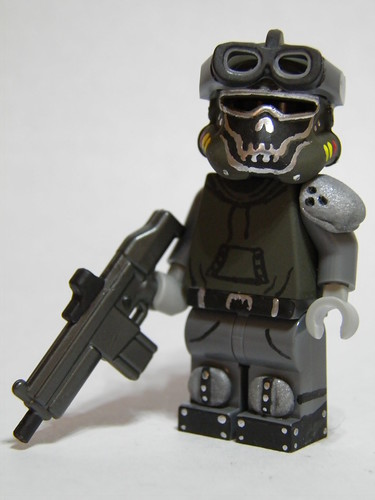 Custom minifig Call of Duty: Future Warfare - Ghost