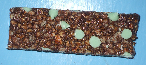 Quaker Chewy Chocolatey Mint Granola Bars Naked