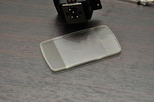 Nikon SB-900 - Main Plate Glass Burn