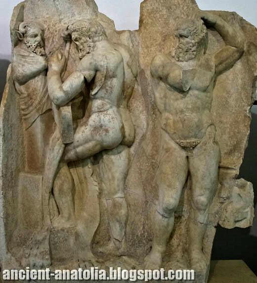Herakles & Antaios