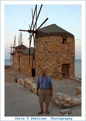 OId Greek Man (CTPPIX.com) Tags: door old trip travel sunset shadow sea summer vacation mer building mill window lines architecture canon pose island greek eos view urlaub aegean entrance hellas windmills greece journey 7d gr ctp mills deniz 2010 chios poz griekenland milis griek hios hellenic greekisland xios greekman sakiz grek yeldegirmeni chiostown khios christpehlivan ctppix sakizadasi xioy imiloi