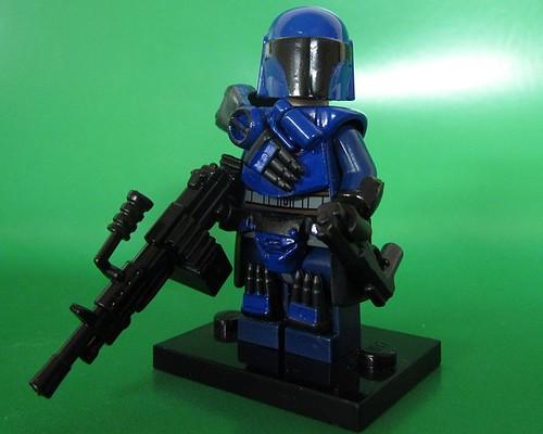 Custom minifig T47 Riot Suit