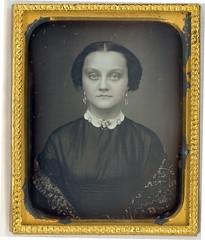Pale Victorian Beauty Daguerreotype (Mirror Image Gallery) Tags: daguerreotype postmortem victorianwoman