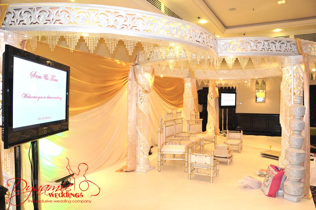 Dynamic Weddings @ Half Crystal Mandaps Guoman Tower Hotel tower bridge