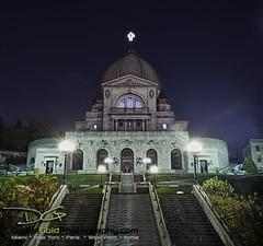 Montreal - St Josephs Oratory (DiGitALGoLD) Tags: saint night nikon long exposure shot montreal du stjosephs stjosephsoratory montroyal d3 saintjoseph mountroyal oratoire gitzotripod
