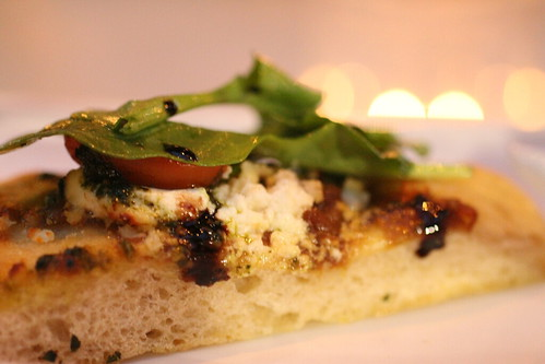 Rob's Goat Cheese & Feta Flatbread