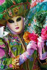 (dindingputeh) Tags: street travel carnival venice italy festival mystery san colorful mask performance dream medieval enigma parade hidden fantasy dressingup disguise mysterious stare romantic masquerade custom venezia glance casanova masque conceal 2011