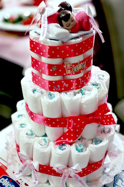 MC DIAPER CAKE