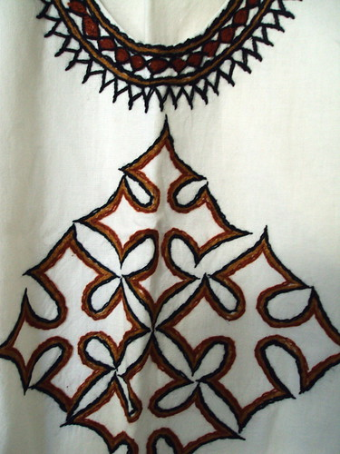 Linen Embroidered Top (detail)