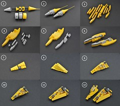 Naboo N-1 instructions (1) (Inthert) Tags: naboo lego moc ship star wars n1 phantom menace r2d2 fighter royal starfighter instructions