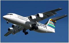 (Riik@mctr) Tags: manchester airport egcc sedsx airplane aircraft outdoor braathens regional bae 146 avro rj msn 3255 ex n511mm