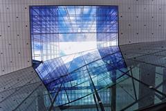 Up in Utrecht (*Chris van Dolleweerd*) Tags: reflections utrecht glass clouds sky holland chrisvandolleweerd building urban