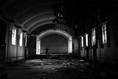 No show (Gareth Priest) Tags: portrait bw urbandecay urbex urbanexploration mood atmosphere mysterious stage