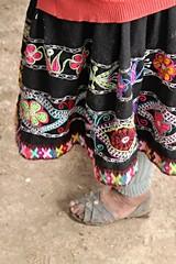 Peruvian Sandals (Ferdypaindepice) Tags: peru perou sandals locals colors