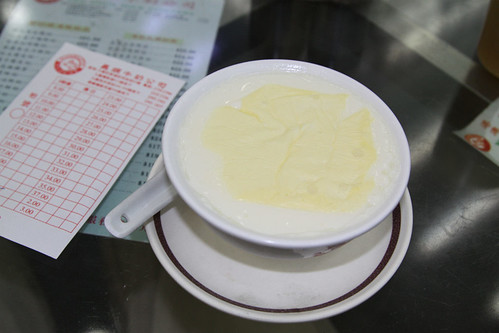 Steamed milk pudding from the Yee Shun Milk Company