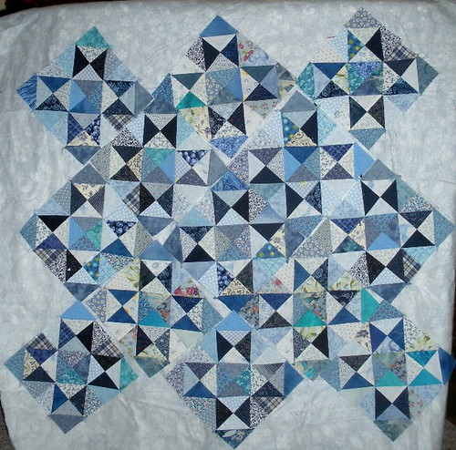 Blue star blocks