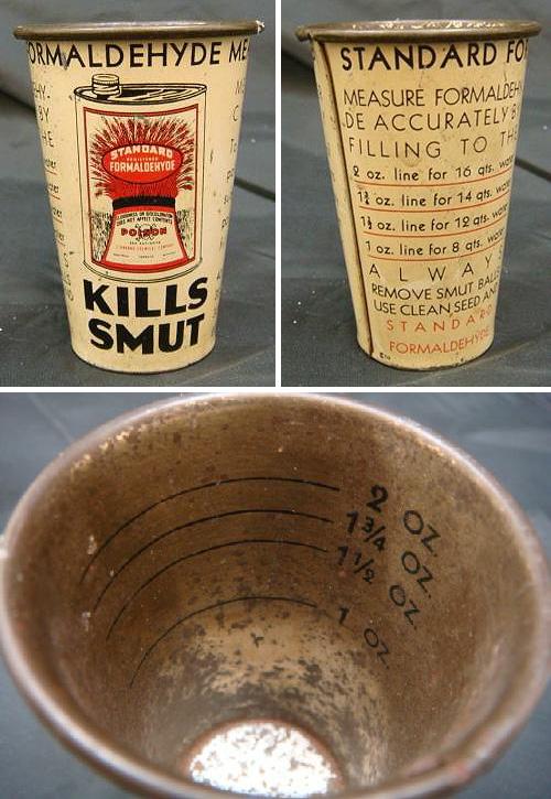 Formaldehyde Cup