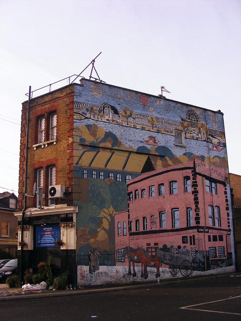 Park Tavern Mural