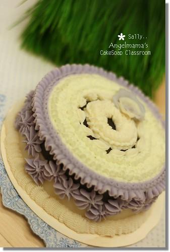 天使媽媽蛋糕皂教學Sally1