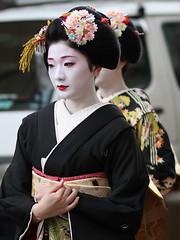 Shin Aisatsu 2011 - Maiko Tanewaka  (Iniwa) Tags: japan kyoto maiko geiko geisha   miyagawacho     tanewaka  tanefumi