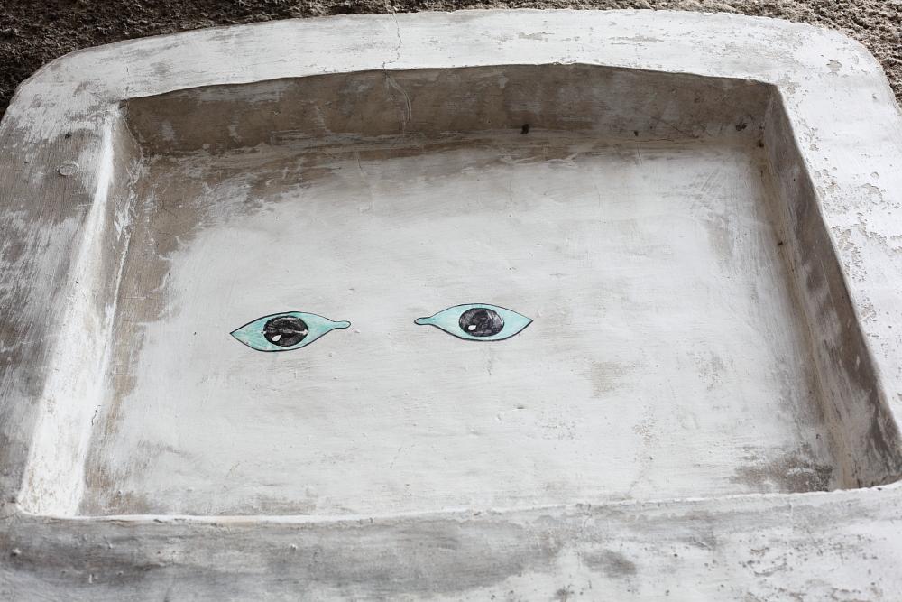 street art in Český Krumlov 3