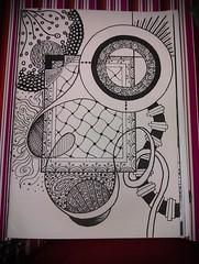 Zentangle #4