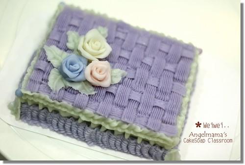 天使媽媽蛋糕皂教學weiwei2