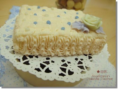 天使媽媽蛋糕皂教學自皂4