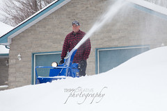 Yamaha Snowblower (Tripp Creative Photography) Tags: blue winter commercial yamaha snowblower advertisingphoto