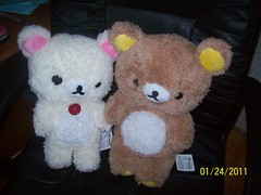 San-x Furry Rilakkuma Plush Set ( Veronica ) Tags: bear cute japan plush kawaii rilakkuma sanx