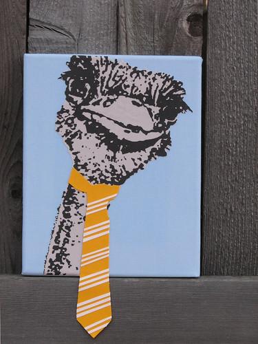 Ostrich Tie