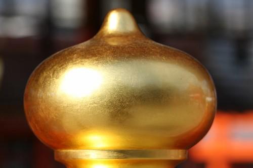 黄金色に輝く・・・