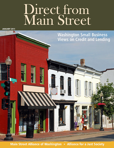 Direct from Main Street: Washington Small Business Views on Credit and Lending