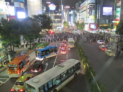 Shibuya Crossing at Night