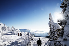 Lets Watch Winter Roll In (Zach Dischner) Tags: winter sky snow ski cold ice creek canon landscape eos colorado wolf frost skiing freezing springs 7d scape pagosa tamron1750 canon7d